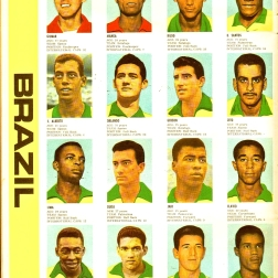 World Cup 1966 FKS Album: Brazil