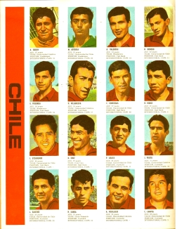 World Cup 1966 FKS Album: Chile
