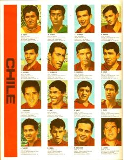 World Cup 1966 FKS Album: Chile
