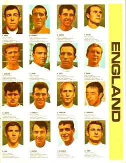 World Cup 1966 FKS Album: England