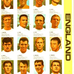 World Cup 1966 FKS Album: England