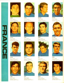 World Cup 1966 FKS Album: France
