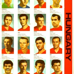 World Cup 1966 FKS Album: Hungary