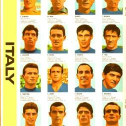 World Cup 1966 FKS Album: Italy