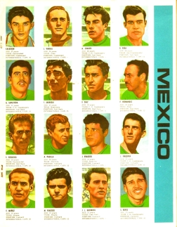 World Cup 1966 FKS Album: Mexico