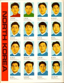 World Cup 1966 FKS Album: North Korea