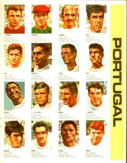 World Cup 1966 FKS Album: Portugal