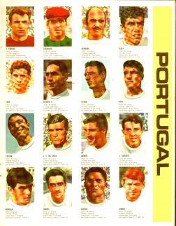 World Cup 1966 FKS Album: Portugal