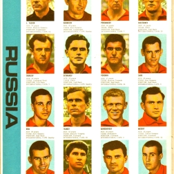 World Cup 1966 FKS Album: Russia