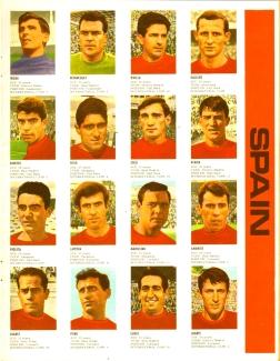 World Cup 1966 FKS Album: Spain