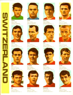 World Cup 1966 FKS Album: Switzerland