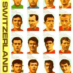 World Cup 1966 FKS Album: Switzerland