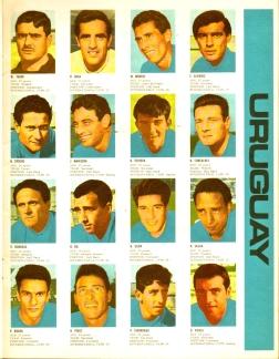 World Cup 1966 FKS Album: Uruguay
