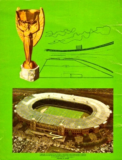 World Cup 1966 FKS Album: West Germany: back cover