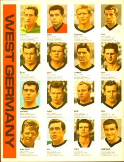 World Cup 1966 FKS Album: West Germany