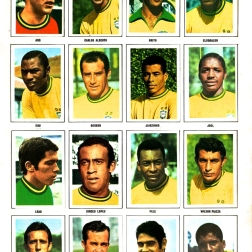 World Cup 1970 FKS Album: Brazil
