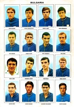 World Cup 1970 FKS Album: Bulgaria