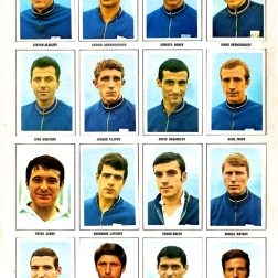 World Cup 1970 FKS Album: Bulgaria