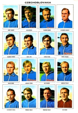 World Cup 1970 FKS Album: Czechoslovakia
