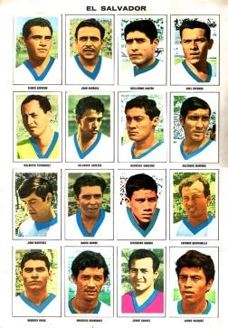 World Cup 1970 FKS Album: El Salvador