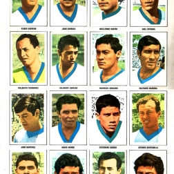 World Cup 1970 FKS Album: El Salvador