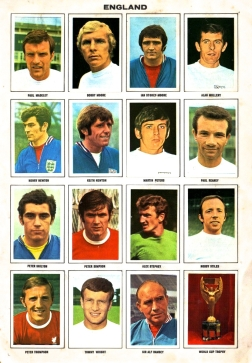 World Cup 1970 FKS Album: England 1