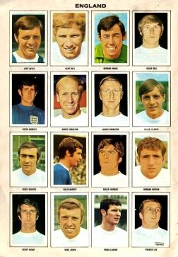 World Cup 1970 FKS Album: England 2