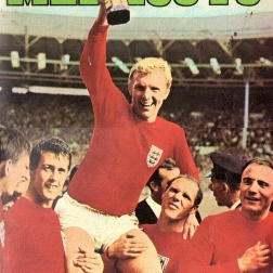World Cup 1970 FKS Album: front cover