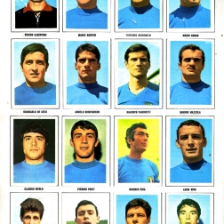 World Cup 1970 FKS Album: Italy