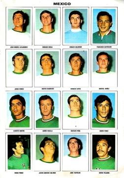 World Cup 1970 FKS Album: Mexico