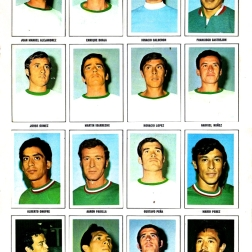 World Cup 1970 FKS Album: Mexico