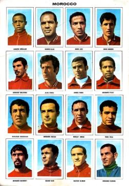 World Cup 1970 FKS Album: Morocco