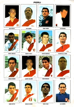 World Cup 1970 FKS Album: Peru