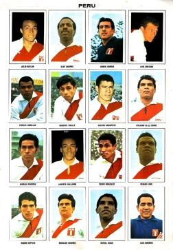 World Cup 1970 FKS Album: Peru