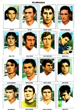 World Cup 1970 FKS Album: Rumania