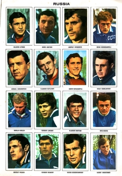 World Cup 1970 FKS Album: Russia