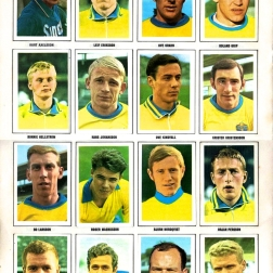 World Cup 1970 FKS Album: Sweden