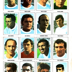 World Cup 1970 FKS Album: Uruguay