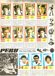 World Cup 1978 FKS Album: Austria & Peru