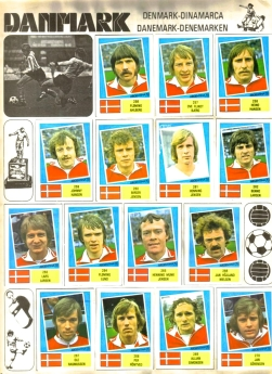 World Cup 1978 FKS Album: Denmark