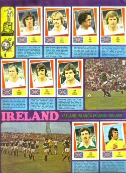 World Cup 1978 FKS Album: England & Northern Ireland