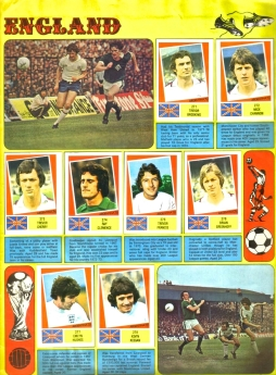 World Cup 1978 FKS Album: England