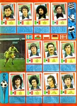 World Cup 1978 FKS Album: Mexico
