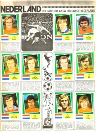 World Cup 1978 FKS Album: Netherlands