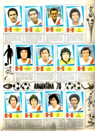 World Cup 1978 FKS Album: Peru