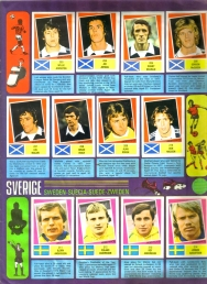 World Cup 1978 FKS Album: Scotland & Sweden