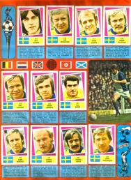 World Cup 1978 FKS Album: Sweden