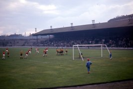 Third Lanark v Berwick Rangers at Cathkin Park, 1966