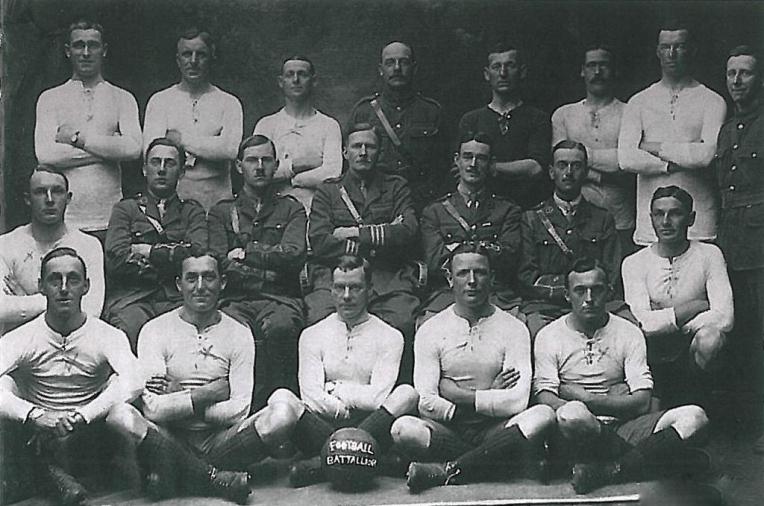 The Football Battalion, 1917