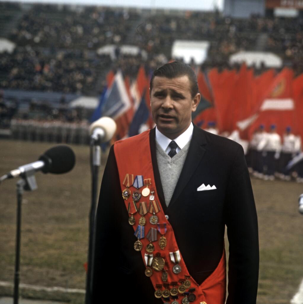 Lev Yashin opening of 1971 Spartaklad – Beyond The Last Man